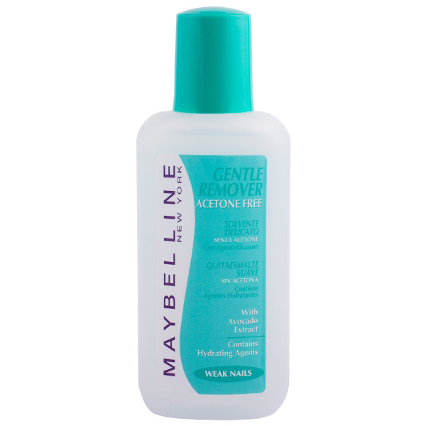 Gentle Nail Polish: Maybelline Gentle Nail Polish Remover Acetone Free
